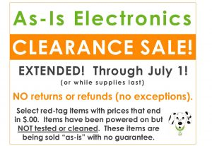 Electronics Sale!