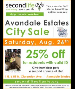 City Sale!