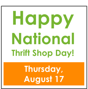 Thrift Shop Day!