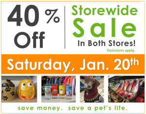 40% Off Sale!