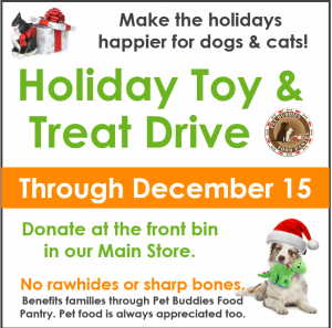 Toy & Treat Drive