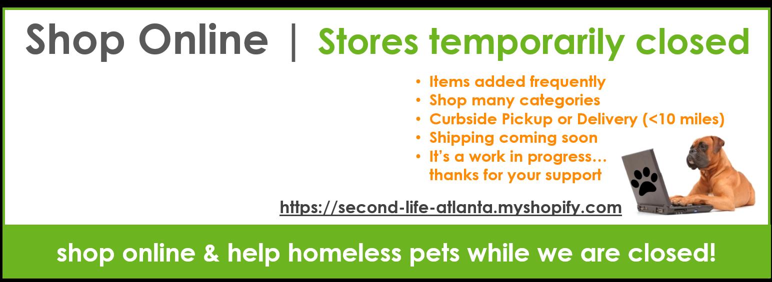 Shop Online & Help Homeless Pets!
