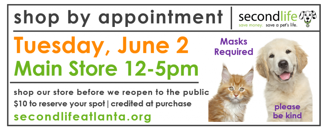 June 2: Shop by Appointment
