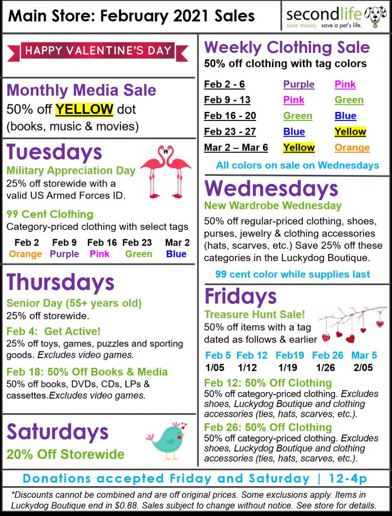 February Sales
