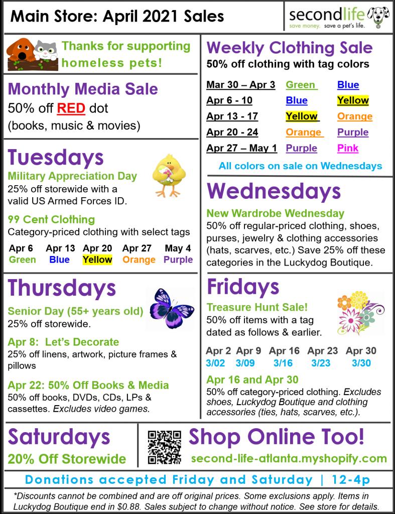 April Sales